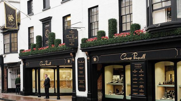George Pragnell shop signs