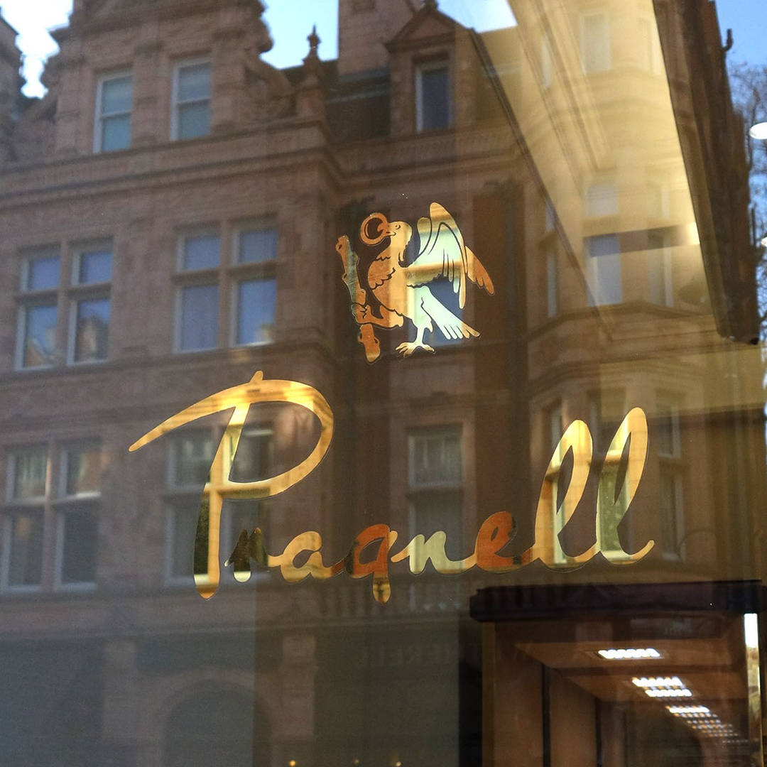 Pragnell glass gilding