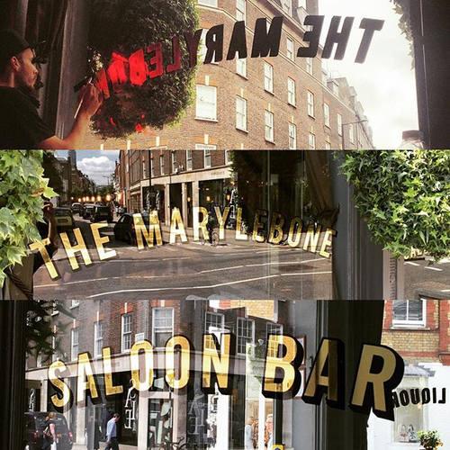 pub signs aranyozas