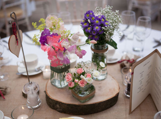 Log Slice & Flowers Centrepiece.jpg