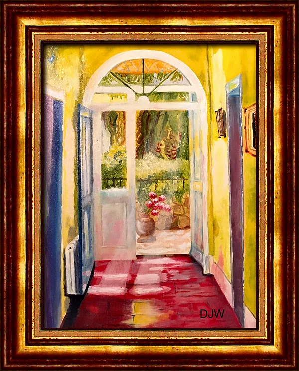 """""""The villa in Provence in summer"""""""