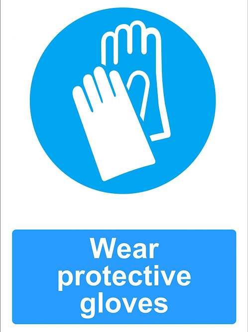 ws25235 - Wear Protective Gloves