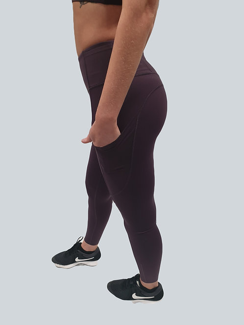 Leggings length 7/8. Sit just above the ankle