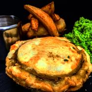 Mushroom & Vegetable Pie