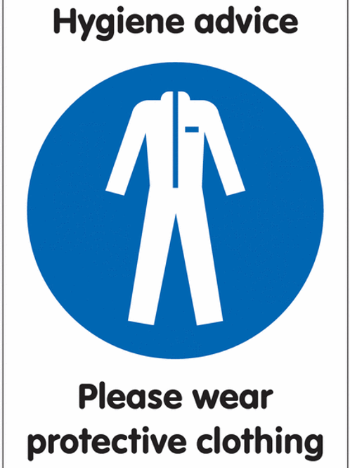 ws25230 - Please Wear Protective Clothing