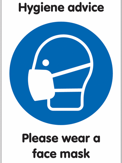 ws25225 - Please Wear a Face Mask
