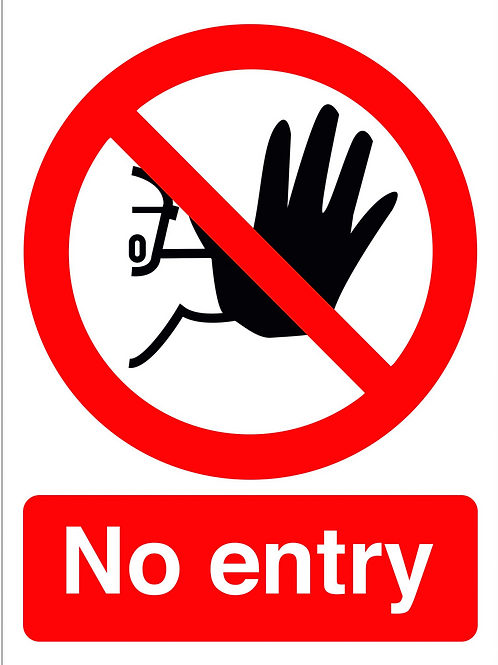 ws25240 - No Entry
