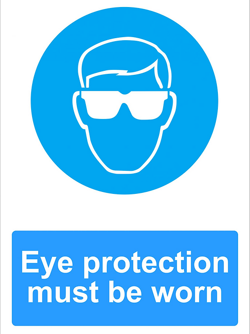 ws25236 - Eye Protection Must Be Worn