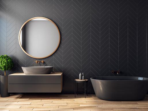 Can you make a dark bathroom work?