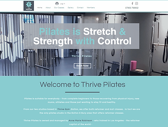 Rapport Marketing - Thrive Pilates