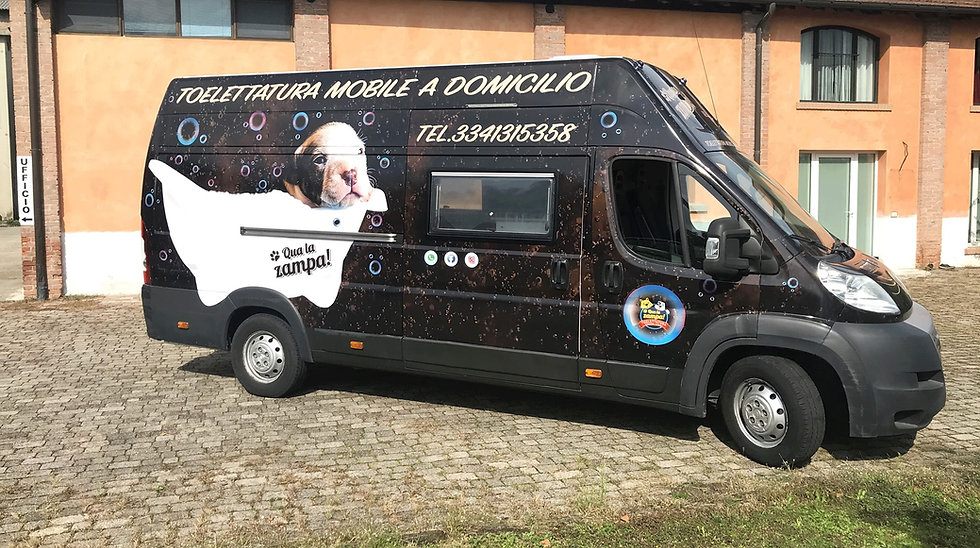 TOELETTATURA MOBILE BEAUTYDOGS-FOURCUSTO