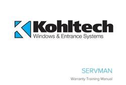 ServMan - Training Manual