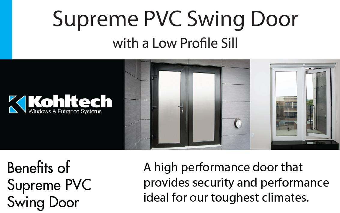 Supreme PVC Swing Door