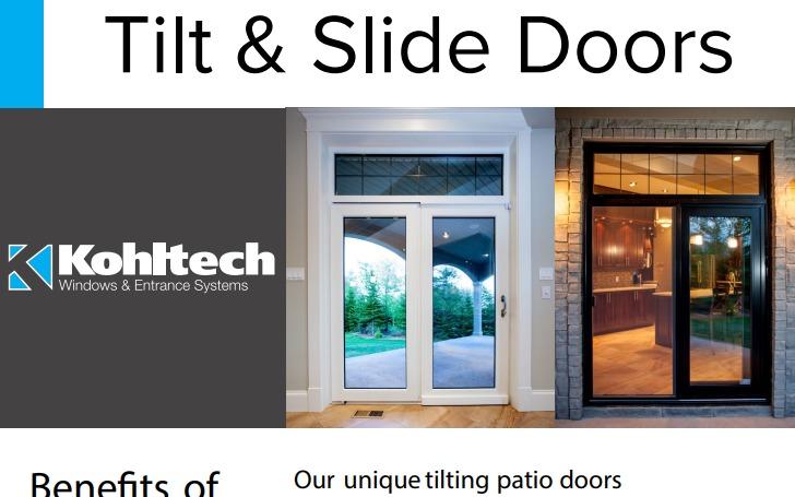 Tilt & Slide Doors