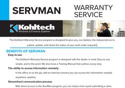 ServMan - Sell Sheet