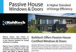 Passive House Sell Sheet