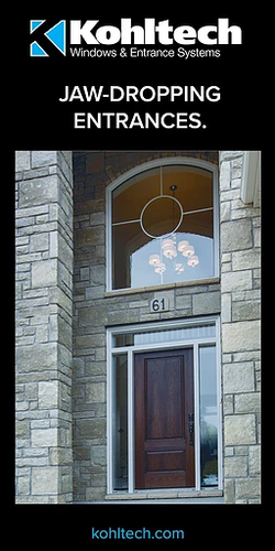 Front Entrance Vertical Banner