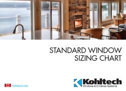 Standard Window Sizing Chart - Canad