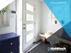 Kohltech Entrance Door Brochure