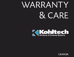 Warranty Book (Canada)