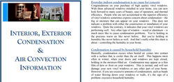 Condensation & Air Convection