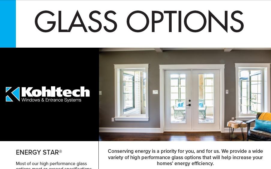 Glass Options Brochures