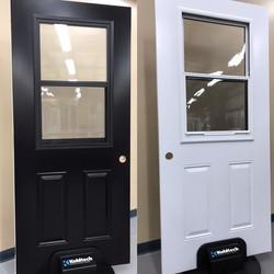 Rotating Door Slab Displays