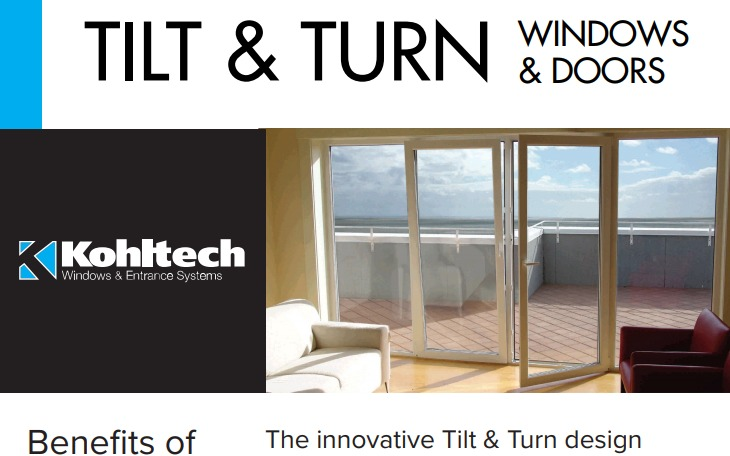 Tilt & Turn Windows and Doors
