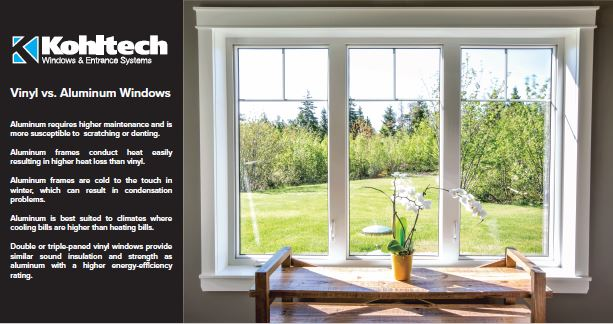 Vinyl vs Aluminum Windows