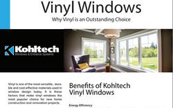 Benefits of Vinyl Windows