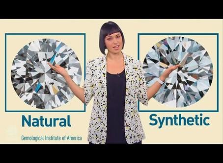 Synthetic Diamonds vs Naturally-forming Diamonds