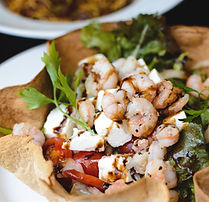 Salad with Shrimps and Feta