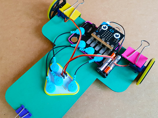 BBC Micro:Bit radio controlled car