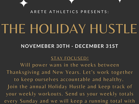 The Annual Holiday Hustle