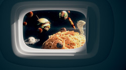 Food Planets Space