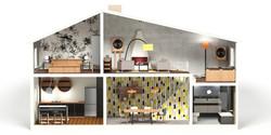 2010 Interior Design Dollhouse