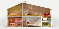 1970 Interior Design Dollhouse