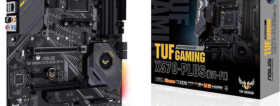 Asus TUF GAMING X570-PLUS (Wi-Fi) w/ DDR4, 7.1 Audio, Gigabit LAN, 802.11ac, BT
