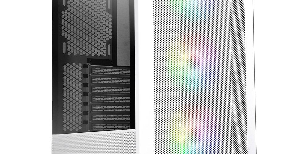 Lian Li LANCOOL II Mesh RGB E-ATX Case w/ Tempered Glass, White