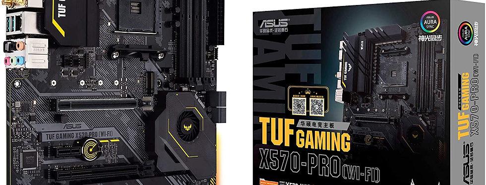 Asus TUF GAMING X570-PRO (Wi-Fi) w/ DDR4-3200, 7.1 Audio, Dual M.2, 2.5G LAN