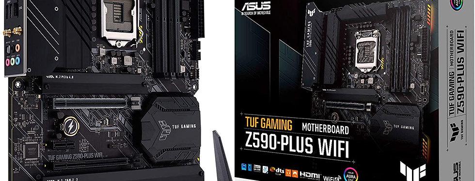 Asus TUF GAMING Z590-PLUS Wi-Fi w/ DDR4-3200, 7.1 Audio, Triple M.2, 2.5G LAN