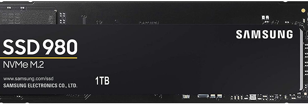 Samsung 980 Series - 1TB PCIe Gen3. X4 NVMe 1.4 - M.2 Internal SSD