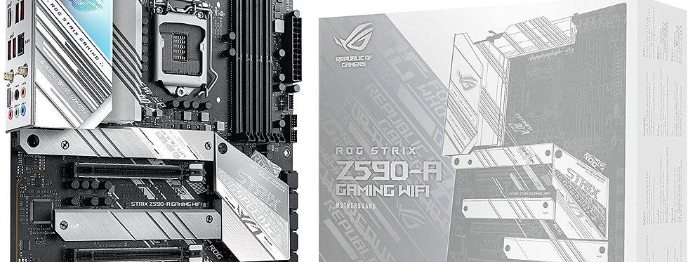 Asus ROG STRIX Z590-A GAMING Wi-Fi w/ DDR4-3200, 7.1 Audio, Triple M.2, 2.5G LAN