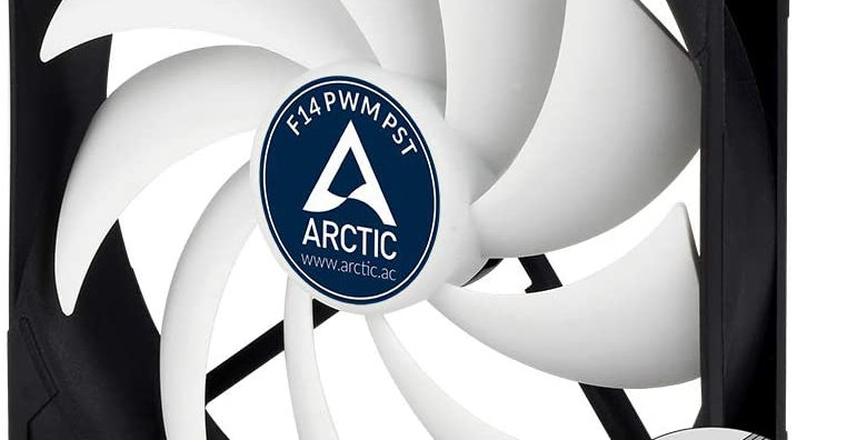 Arctic Cooling ARCTIC F14 PWM PST 140mm PWM Fan, Black