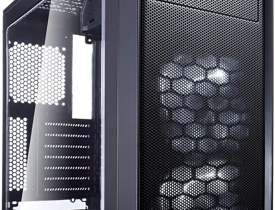 Fractal Design Focus G Mid Tower ATX Case w/ Window, Black