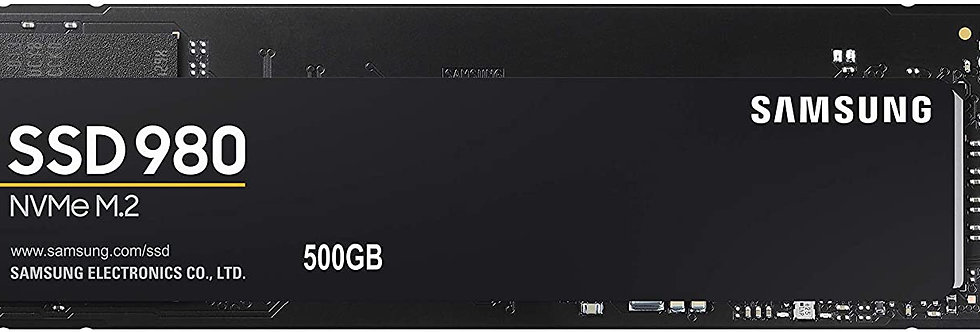 Samsung 980 Series - 500GB PCIe Gen3. X4 NVMe 1.4 - M.2 Internal SSD