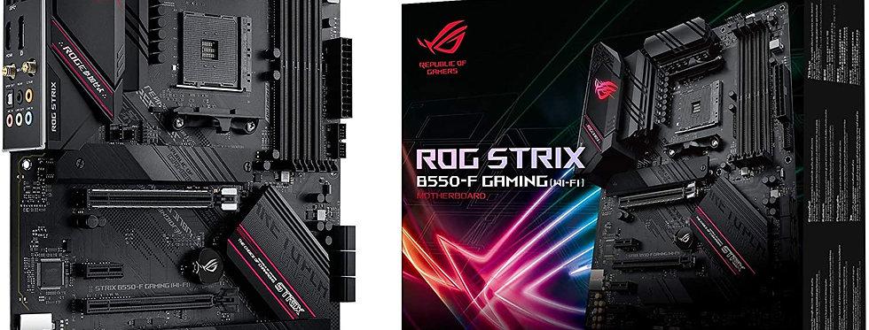 Asus ROG STRIX B550-F GAMING (Wi-Fi) w/ DDR4-3200, 7.1 Audio, WiFi 6 2.5G LAN