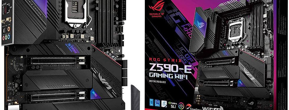 Asus ROG STRIX Z590-E GAMING Wi-Fi w/ DDR4-3200, 7.1 Audio, Quad M.2, Dual 2.5G