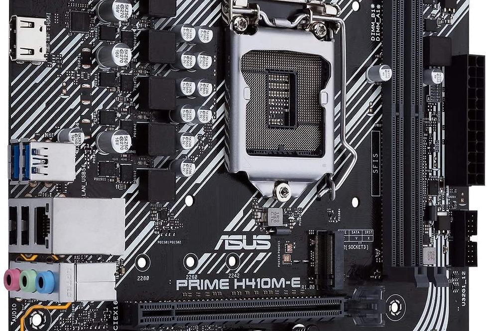 Asus PRIME H410M-E w/ DDR4-2933, 7.1 Audio, M.2, Gigabit LAN