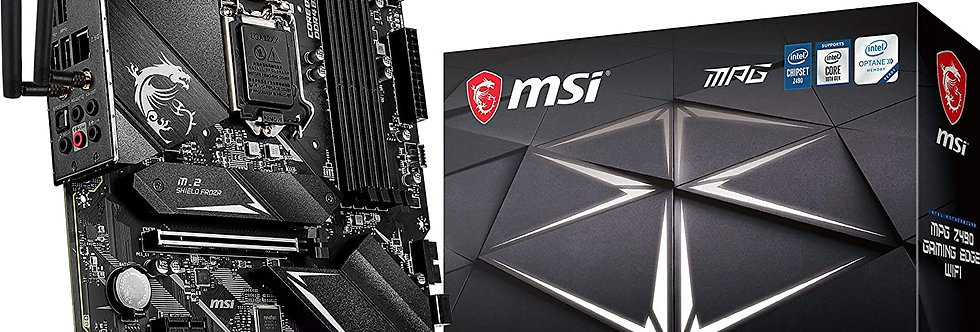MSI MPG Z490 GAMING EDGE WIFI w/ DDR4-2933, 7.1 Audio, Dual M.2, 2.5G LAN